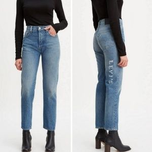 Levi's 501 Made & Crafted High Rise Straight Jeans